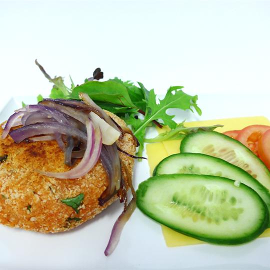 MYO Vegetarian Burger