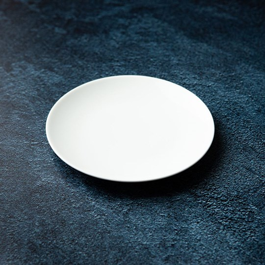 White side plate (ex)