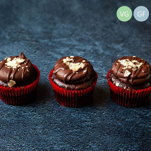 Vegan Chocolate Cupcake (vg/gf/df) (EX)