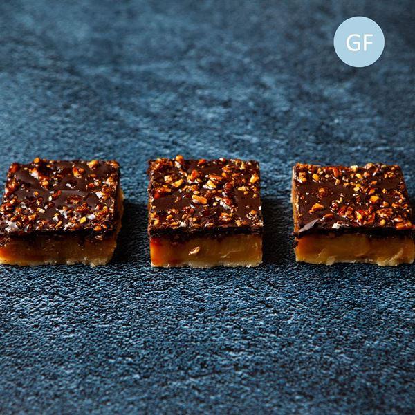 Praline Caramel Slice (gf) (EX)