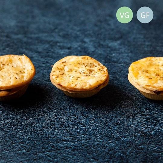 Gluten Free Gourmet mini pie platter (gf) (ex) Warm