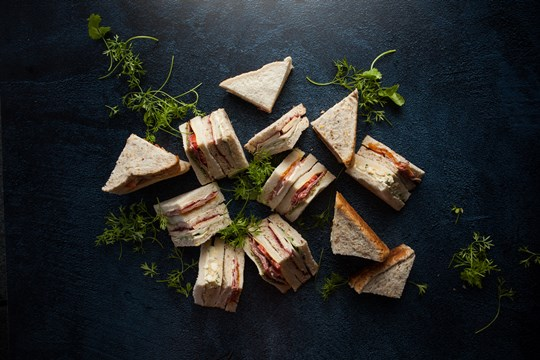 Simple homestyle sandwiches (ex)