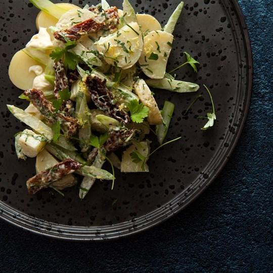 Chat potato, sundried tomato, celery, lemon mayo (v/gf) - share bowl (ex)