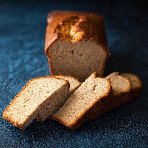 Thick cut banana bread (ex)
