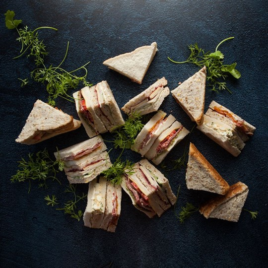 Simple homestyle sandwiches  - to include 10% veg (ex)