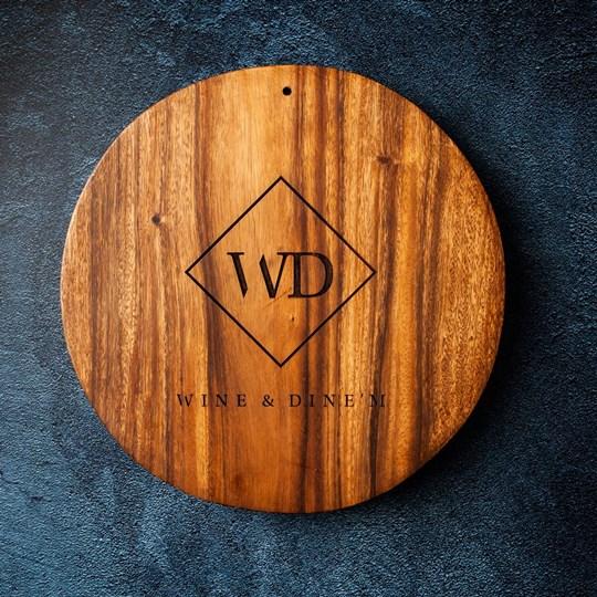 Wooden Serving  Platter  (EX)