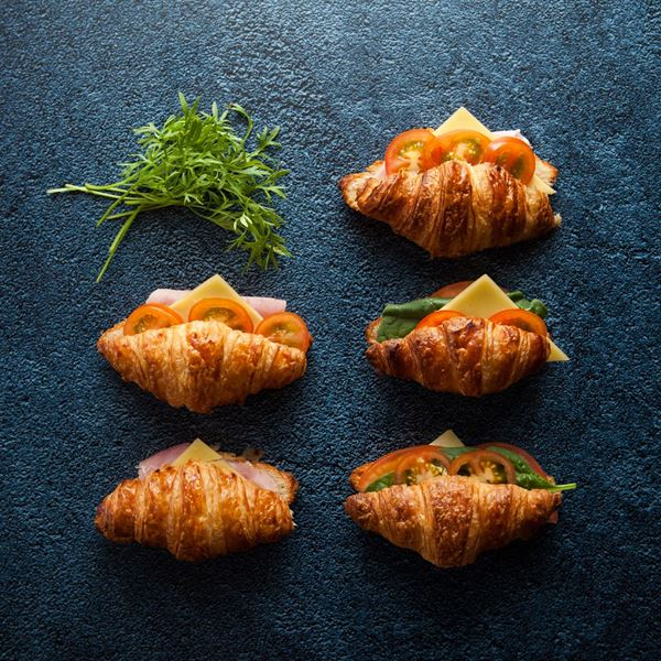 Croissant - assorted filled mini (ex)
