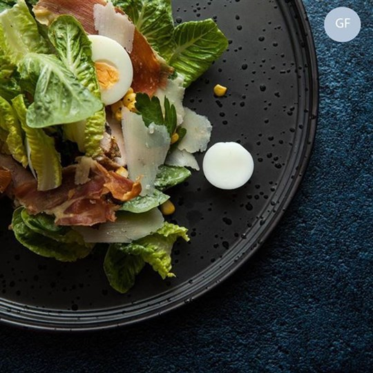 Cobb Salad - chicken, corn, pancetta, cos, blue cheese dressing (gf) - share bowl (ex)