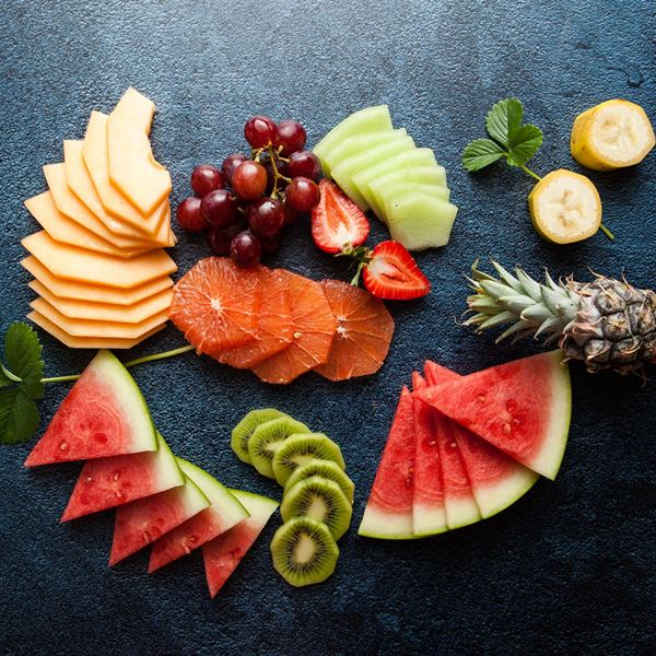 Seasonal fruit platter - sliced (ex)