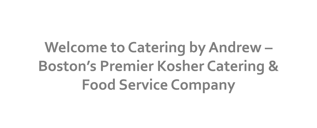 Catering by Andrew