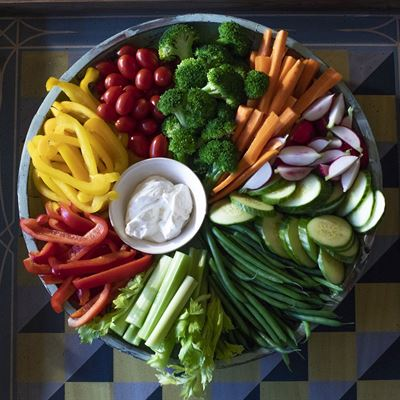 Vegetable Crudites Platter