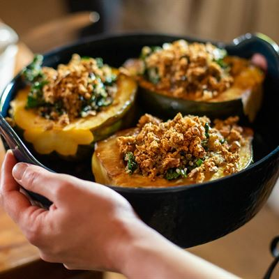 Add a Vegan Stuffed Squash to Any Package