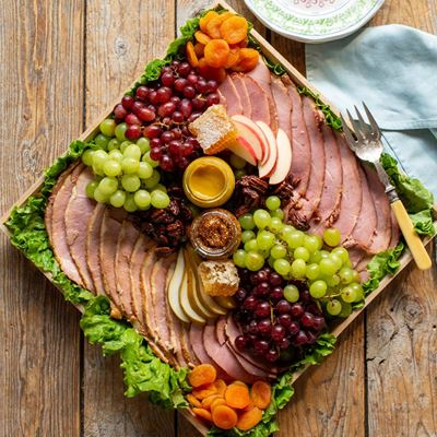Holiday Ham Display