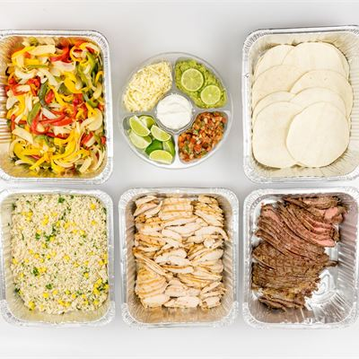 Fajita Package Hot Buffet