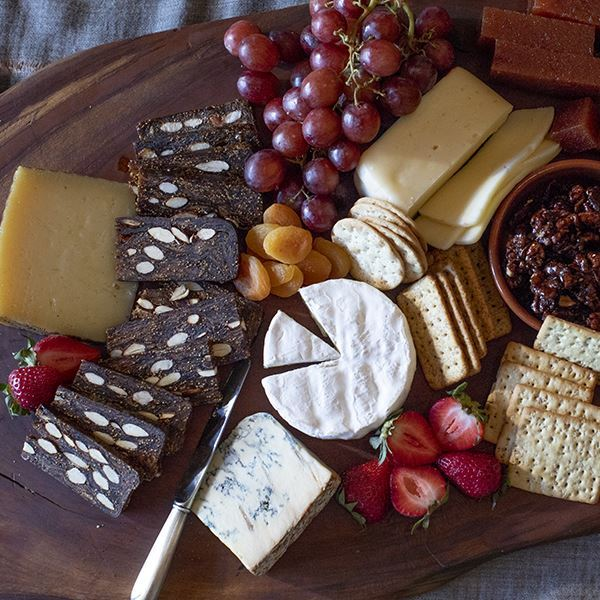 Artisanal Cheese Sampler Platter