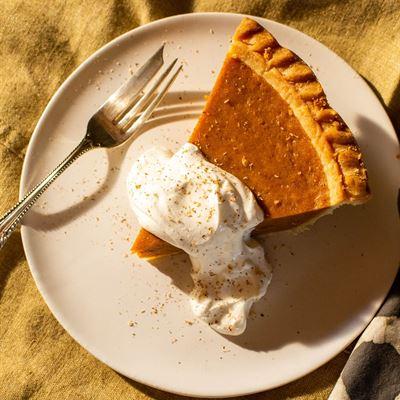 Deep Dish Pumpkin Pie, 9-inch