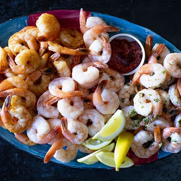 Shrimp Trio Platter
