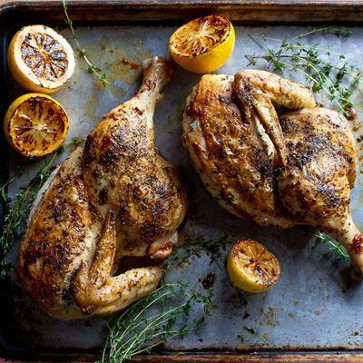 Lemon-Thyme Roasted Chicken Family Meal