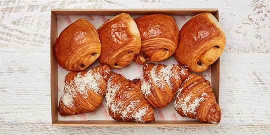 Large Chocolate Croissant Pastry from Noisette Bakery