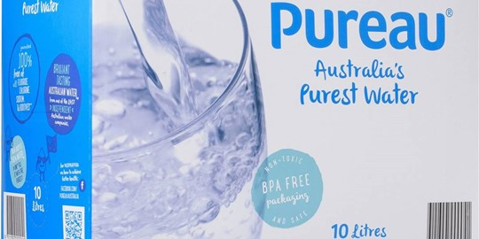 Pureau Ultra Pure Water 10L
