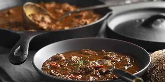 Malaysian beef curry and steamed rice (400g) GF DF