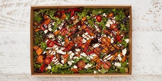 Salad Medium - Mediterranean Roasted Vegetable salad (v, gf)