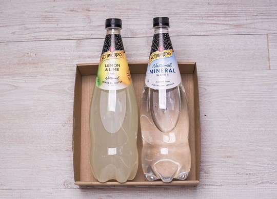 1.1L Schweppes Natural Mineral Water – pick one