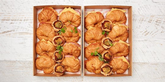 Breakfast Savoury Box (large) (warm)
