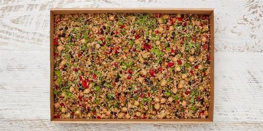 Salad Medium - Superfood grain salad (v, df) *contains nuts