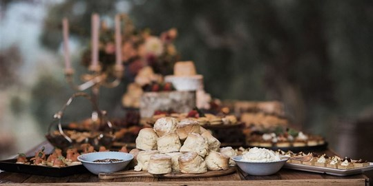 Grazing Table - High Tea (cold)