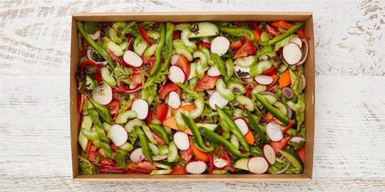 Salad Medium - Garden Salad (vegan, gf, df)