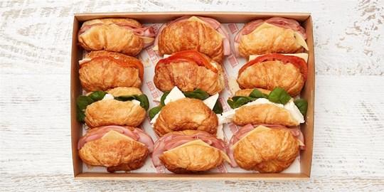 Croissant Box - Savoury Collection (mini) (cold)