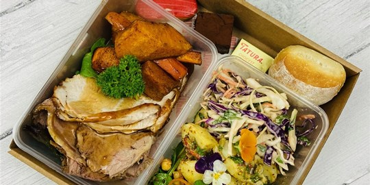 Christmas Lunch in a Box