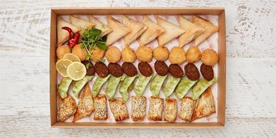 Platter - The Infamous Vegetarian (50 pieces)