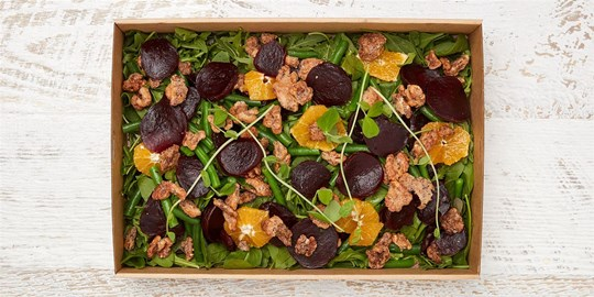 Salad Medium - Roasted beetroot salad (v, gf) *contains nuts