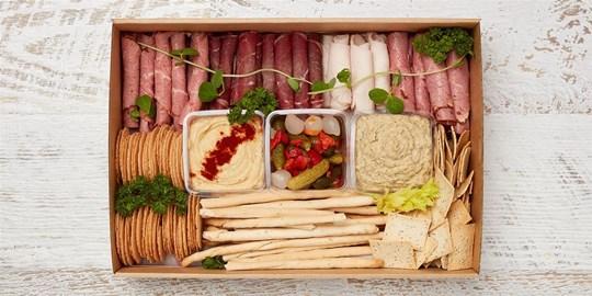 Kosher friendly Charcuterie platter (Serves 8-10)