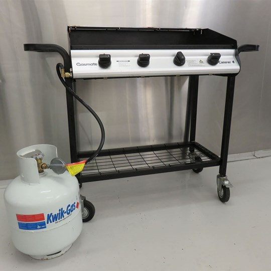 Hire - BBQ Grill Pack 6 burner (suits up to 80 guests)