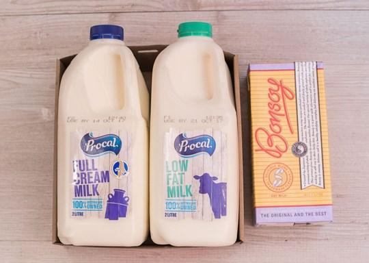 2 litre Milk - pick one