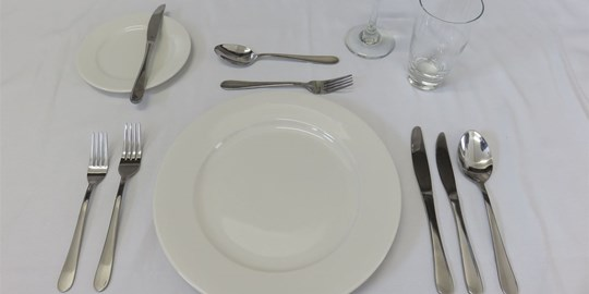 Hire - 2 Course Tableware Pack