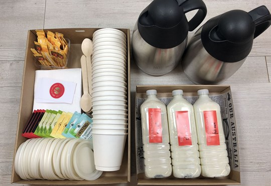 Tea & Coffee Station for an intimate Group (min 10)