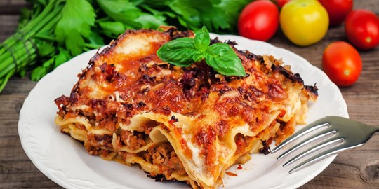 Beef Lasagne - Single Serve