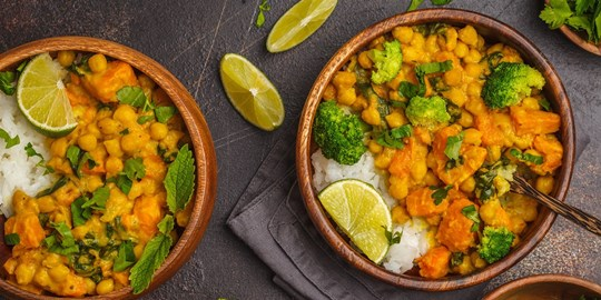Moroccan Vegetable Tagine with steamed rice (400g)  (Vegan, GF, DF)