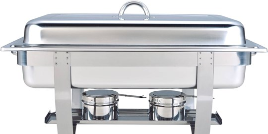 Hire - Large Chafing Dish with gel flame candle