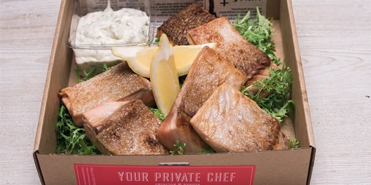 Platter - Grilled Atlantic Salmon marinated in our Tuscan sauce (approx. 100g ea) (6 pieces)