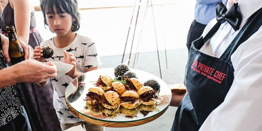 Platter - Kids Mini Beef Cheeseburger Box (12 piece platter)