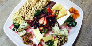Spring Racing Fruit & Cheese Platters