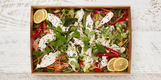 Salad Medium - Asian Chicken salad (gf, df)