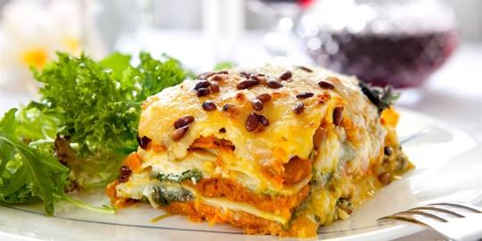 Roasted Vegetable Lasagne - Single serve (V)