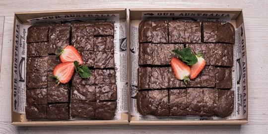 Platter - Brownie Box - (25 pieces)