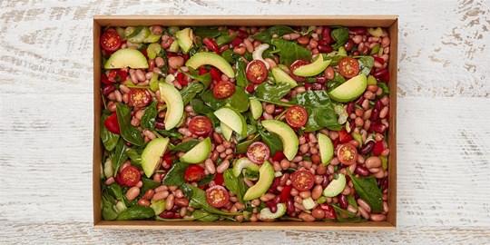 Salad Medium - Bean salad (vegan, df)